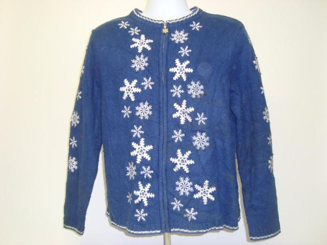 Blue Christmas Ugly Sweater
