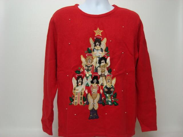 Sister Act Tree - Tacky Christmas Sweater