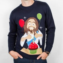 Birthday Jesus Christmas Sweater