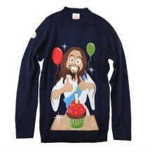 Birthday Jesus Christmas Sweater Funny