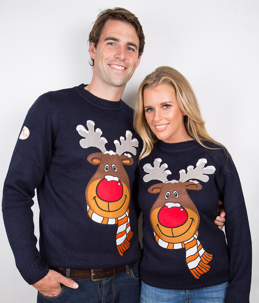 Reindeer Christmas Funny Ugly Sweater