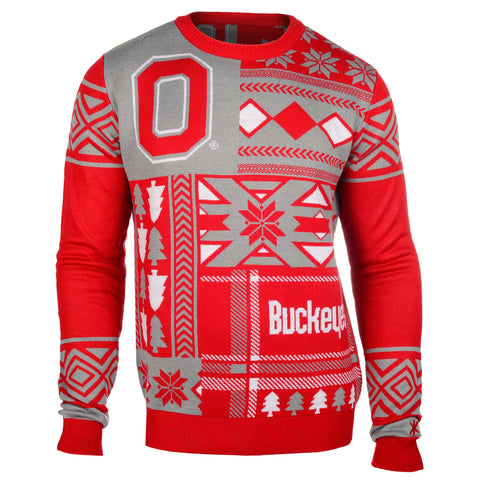 Ohio State Buckeyes Ugly Christmas Sweater
