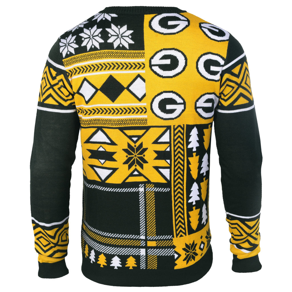 Cheeseheads Christmas Gift Ugly Green Bay Packers Sweater Ugly