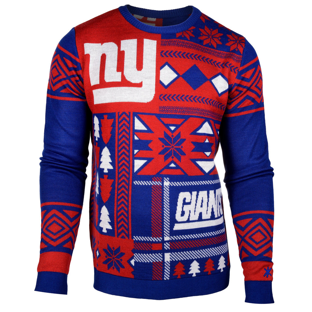 New York Giants Ugly Christmas Sweater – Ugly Christmas Sweater Party