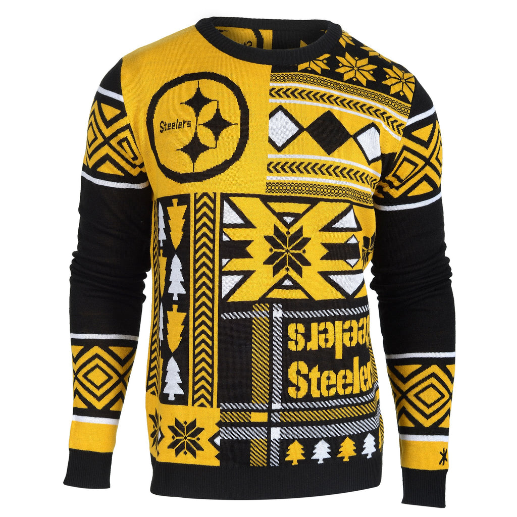 quality design 482c4 011eb Pittsburgh Steelers Ugly Christmas Sweaters