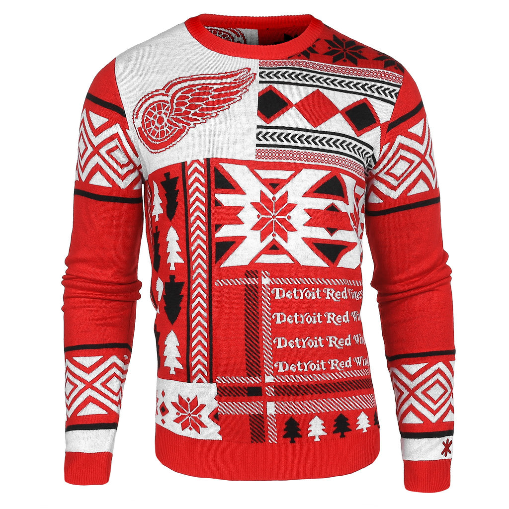 Detroit Red Wings Ugly Christmas Sweaters – Ugly Christmas Sweater Party