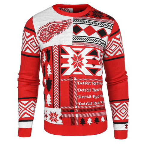 Detroit Red Wings Ugly Christmas Sweaters