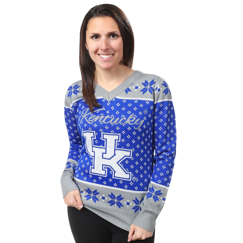 University of Kentucky Wildcats Womens Christmas Sweater