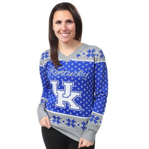 Kentucky Wildcats Ugly Christmas Sweater