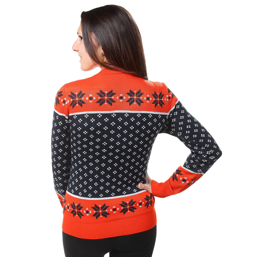 Chicago Bears Womens Christmas Sweater – Ugly Christmas Sweater Party