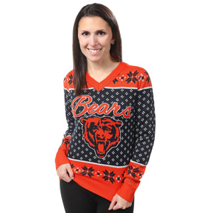 Chicago Bears Womens Christmas Sweater