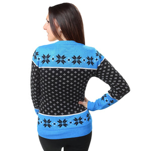 Carolina Panthers Womens Christmas Sweater