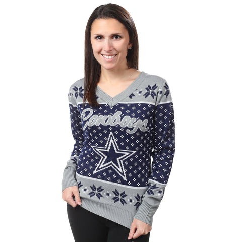 Dallas Cowboys NFL Womens Christmas Sweater