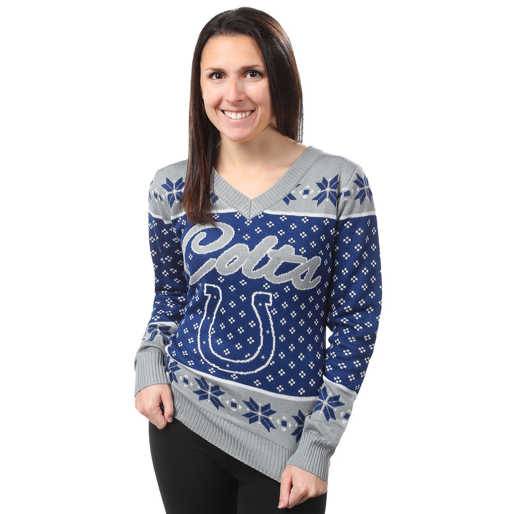 Indianapolis Colts Womens Christmas Sweater