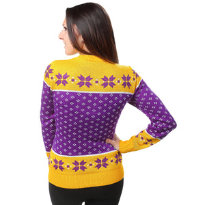 Minnesota Vikings Womens Christmas Sweater
