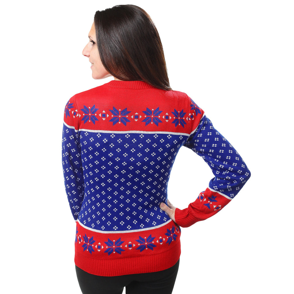 New York Rangers Christmas Sweater – Ugly Christmas Sweater Party 227c1b7e95