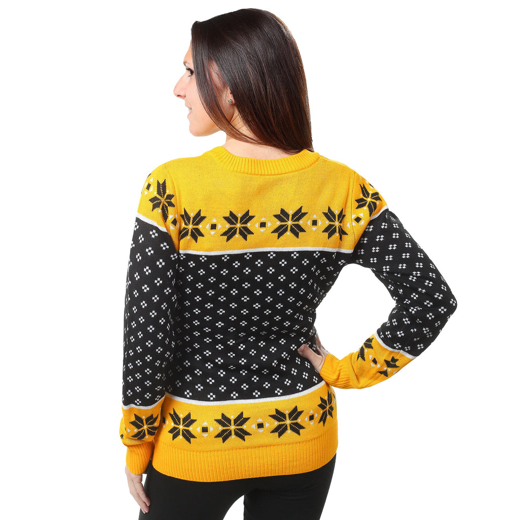 Pittsburgh Steelers Womens Christmas Sweater – Ugly Christmas ...
