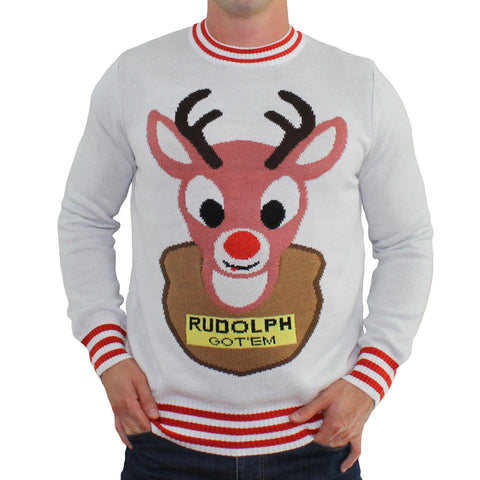 Mounted Rudolph Sweater