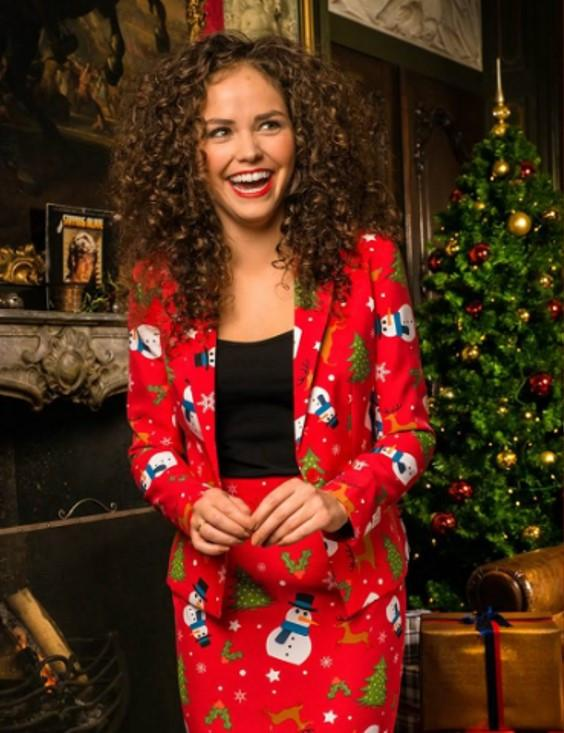 Womens Christmas Suit - ChristMISS