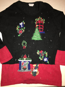 Creepy Kitty Christmas Sweater 1666