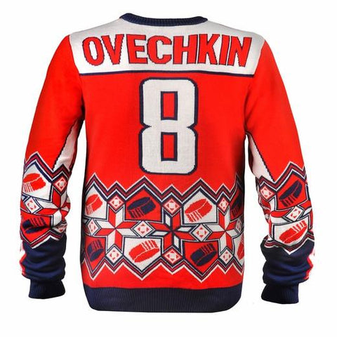Alexander Ovechkin Washington Capitals Ugly Christmas Sweater