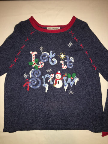 Let It Snow Ugly Sweater 1658