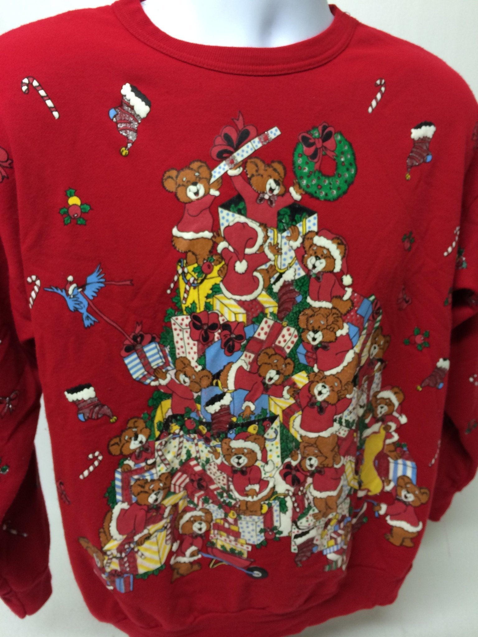Huge Pile of Christmas - Vintage Xmas Sweatshirt