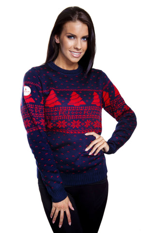 Vintage Style Fair Isle Christmas Sweater