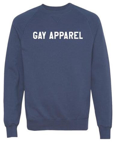 Gay Apparel Funny Holiday Party Sweatshirt