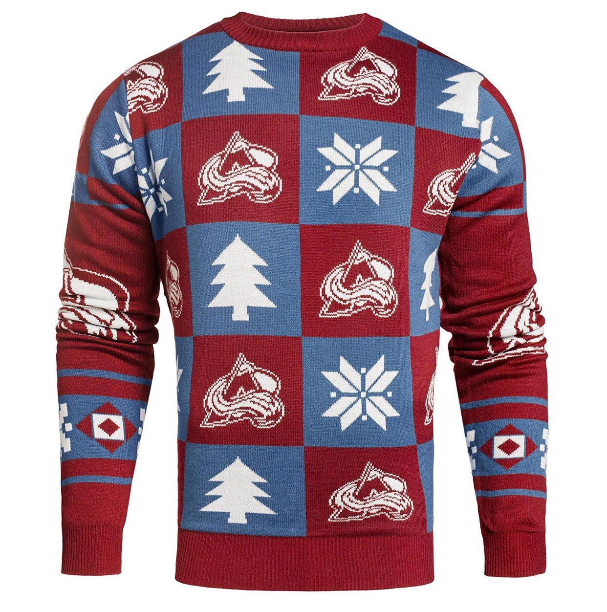 Colorado Avalanche Ugly Christmas Sweater