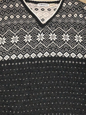 Nordic and Navy Christmas Sweater 1704