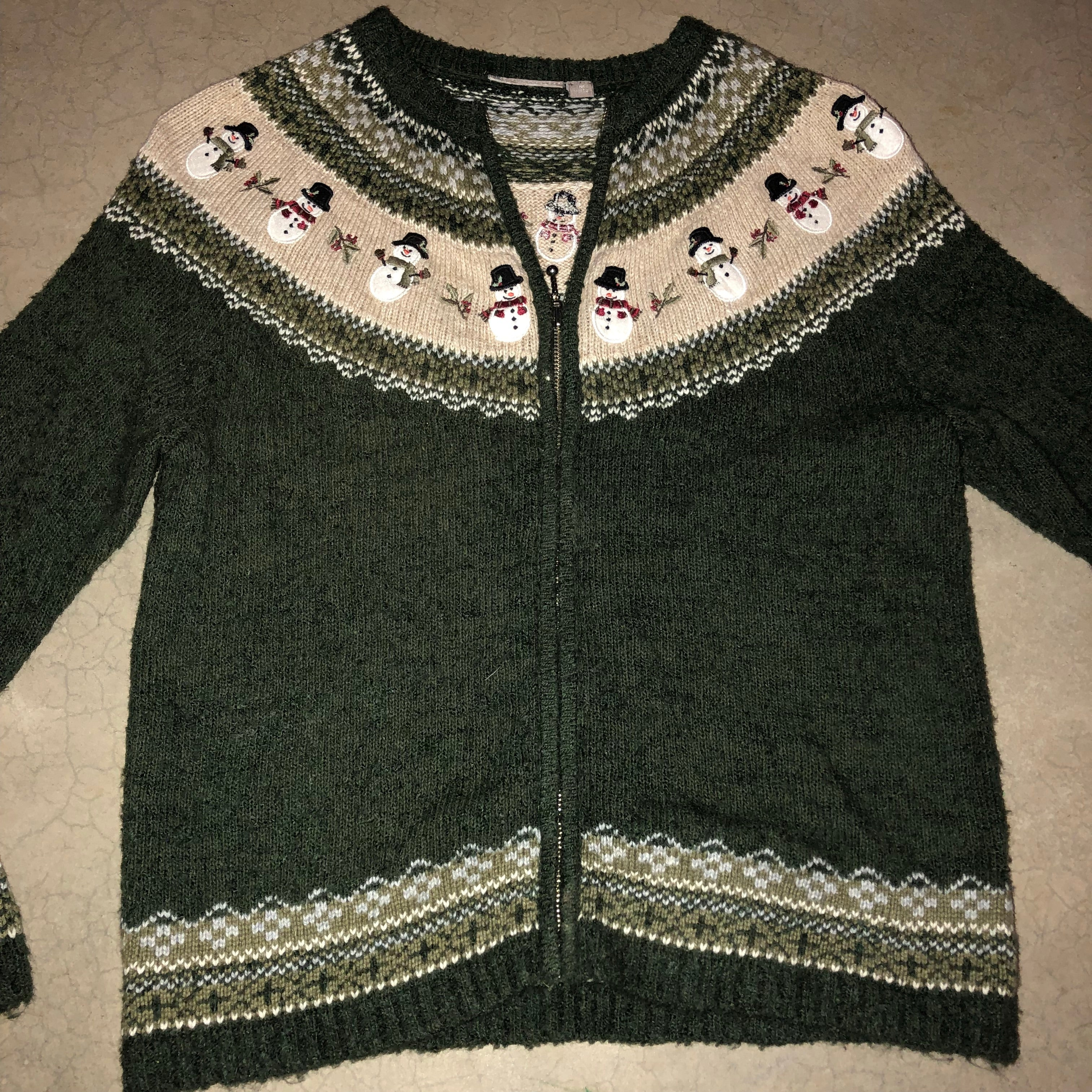 Green Rover Green Rover Vintage Christmas Sweater 1713