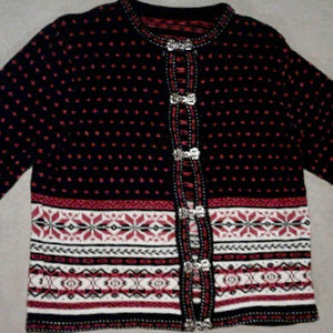 Nordic No Look Vintage Christmas Sweater 1728