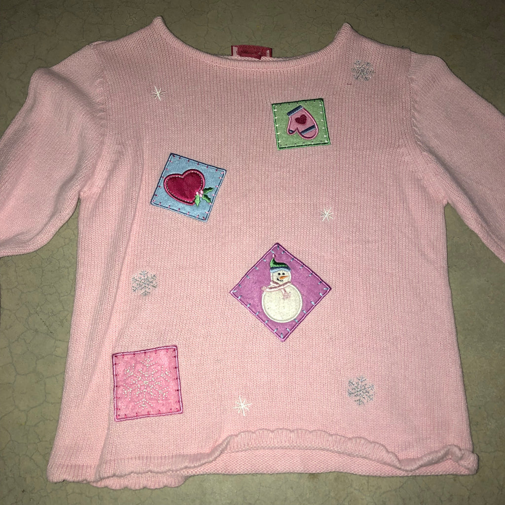 ugly in pink vintage cheap christmas sweater 1715 - Pink Ugly Christmas Sweater