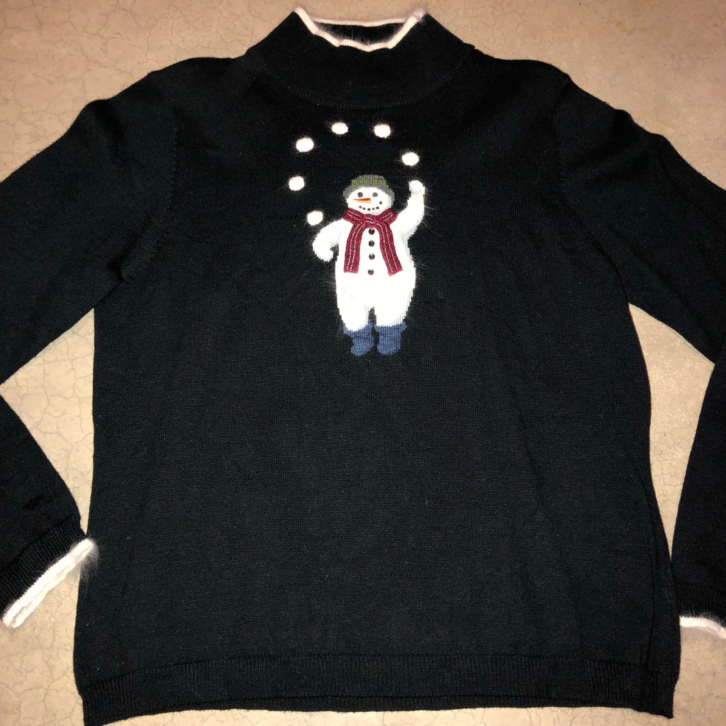 ball breaker vintage christmas sweater 1716 - Vintage Christmas Sweater