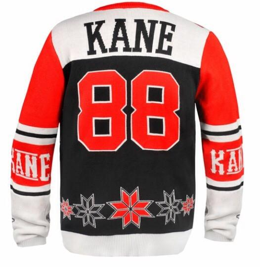 Patrick Kane Blackhawks NHL Ugly Christmas Sweater