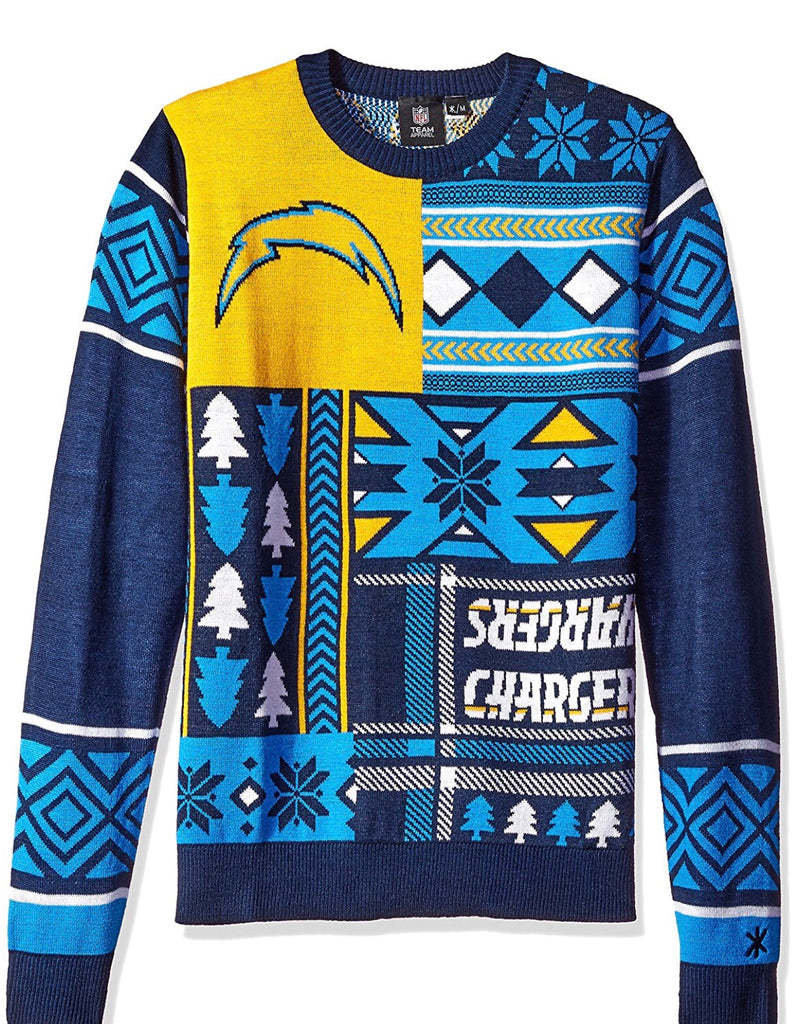 San Diego Chargers Christmas Sweater
