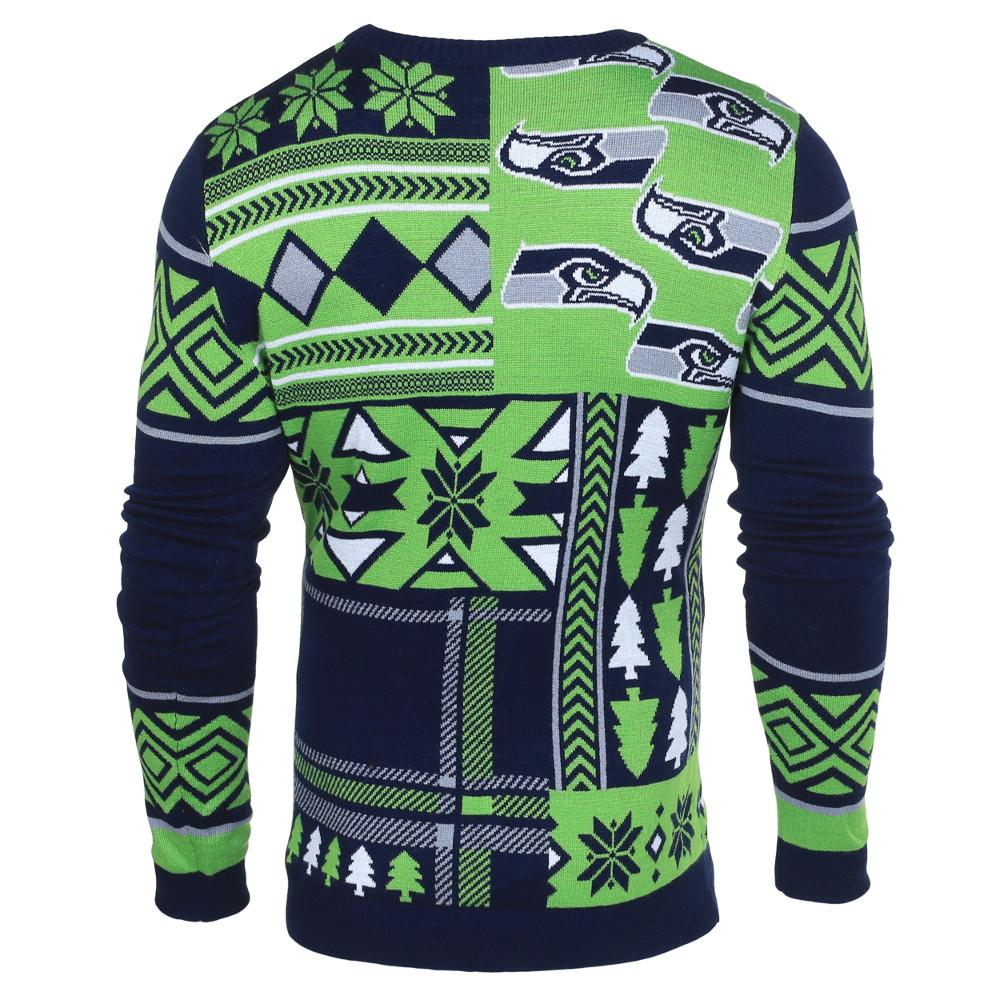 Seattle Seahawks Ugly Christmas Sweaters – Ugly Christmas Sweater Party