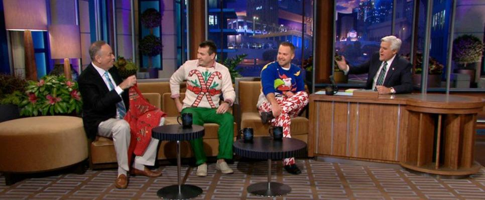 Christmas Sweaters on Tonight Show