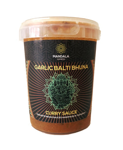 Garlic Balti Bhuna Curry Sauce