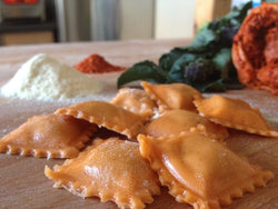 Fresh Mozarella & Nduja Ravioli 250g (Saturday delivery only)