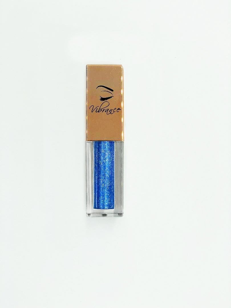 Metallic Liquid Eyeshadow 16 - Blue Luster - Vibrance Cosmetics