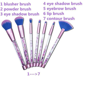 Confetti Glitter Makeup Brush Set - Vibrance Cosmetics
