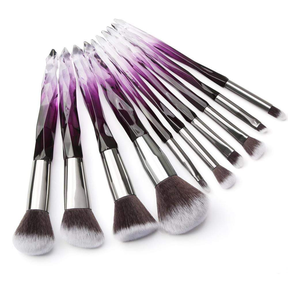 Diamond Crystal Brush Set - Vibrance Cosmetics