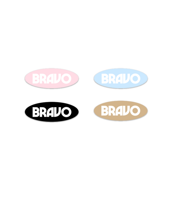 Free Bravo Stickers — FREE SHIPPING
