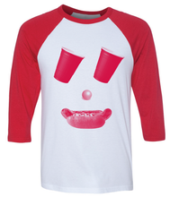 Load image into Gallery viewer, Game Face, Red, Unisex, Baseball T-shirt