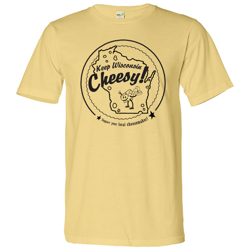 Keep Wisconsin Cheesy, Unisex, T-shirt