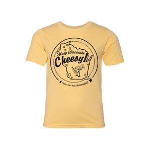 Keep Wisconsin Cheesy, Youth, T-shirt