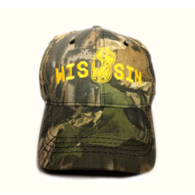 Load image into Gallery viewer, WIS[]SIN, Oak Camo, Hunting Cap
