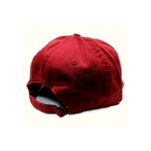 WIS[]SIN, Red, Baseball Cap